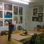 Communal kitchen / breakfast area