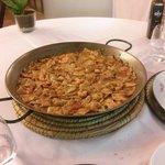 Gazpacho manchego marinero (mejillones,vieira,pescado...)