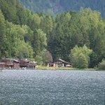 Nice lake nearby hotel