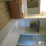 salle de bain de la chambre d'hotel
