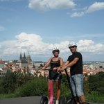 Prague en segway