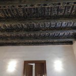 the ancient ceiling