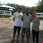 With Osman, our guide