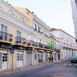 The hotel is situated in a very small street but in walking distance to center