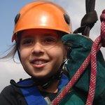 Jessica having fun