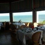 Vista del mare dal ristorante