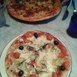 Pizza Giardiniera (veg) / American Hot