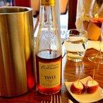 Tavel產Rose wine