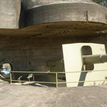 Gun Emplacement, never fired in Anger !