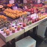 la frutta del mercato centrale
