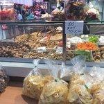 la frutta secca del mercato