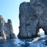 Faraglioni di Capri, dettaglio