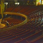 The Ryman Auditorium pews