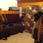 Backpackers room