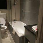 The nice new bathroom in room 511