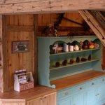 Our rustic dininig room