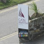 Parking and a meal available in the hotel next door - Carnmarth