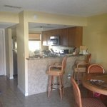 Home away from home. Kitchen and breakfast bar