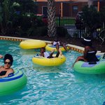 Fun and relaxing lazy river