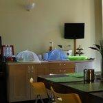 la sala della colazione