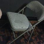Per la colazione userete queste sedie