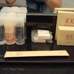 Kit di prodotti da bagno