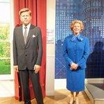 John Kennedy e Margaret Thatcher