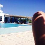 Pool und Veranda