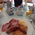 Breakfast was delicious!!!