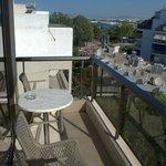 Балкон - вид из нашего номера