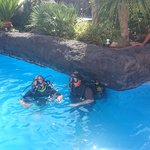 scuba diving on Monday morning