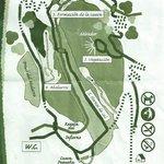 Mapa del recorrido de la visita a las cuevas de Zugarramurdi