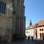 One of the main squares in old town Konstanz
