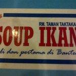 soup ikan serang