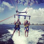 Our parasailing trip