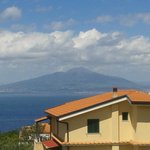 View of Vesuvius from balcony
