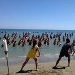 Пляжный фитнес Адриатики