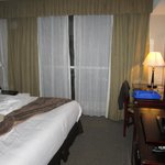 Room interior / King size bed
