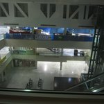 Room view into mall