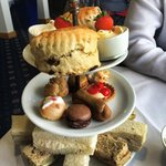 Full afternoon tea selection