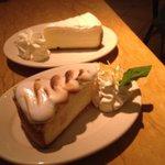 Lemon Meringue Cheesecake - yummy!