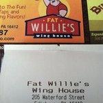Foto de Fat Willie's Wing House