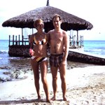 40 years ago, on our honeymoon...