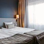 Scandic Star Sollentuna ,Room ,Bed