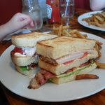 triple decker club house sandwich