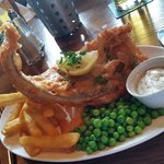 Really good fish supper