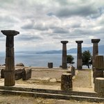 Temple of Athena, 5 minute walk from the Hotel