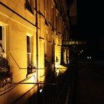 Hotel at night