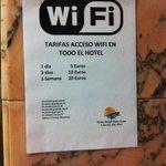 Wifi a pagamento e non prende al ristorante
