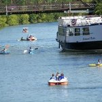 Image of Genesee River fun!